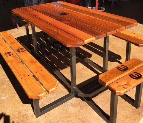 texas custom picnic table
