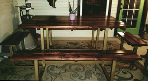 Custom Picnic Table